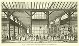 Galeries de bois, ancien camp des Tartares, au Palais-Royal, 1825
