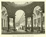 Interieur du cirque, dans le jardin, en 1791