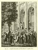 Camille Desmoulins au Palais-Royal, 17 juillet 1789