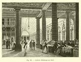 Galerie d'Orleans en 1840