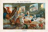 Au Bon Marche trade card