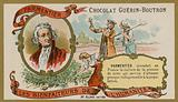 Chocolat Guerin-Boutron trade card, Antoine-Augustin Parmentier