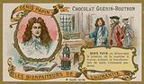 Chocolat Guerin-Boutron trade card, Denis Papin