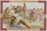 Chocolaterie d'Aiguebelle trade card, Simon the Canaanite