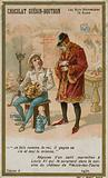 Chocolat Guerin-Boutron trade card, Historic Words series