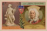 Chocolat Poulain Orange trade card