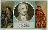 Palmin trade card with an image of Goethe