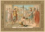 Trade card depicting Brennus
