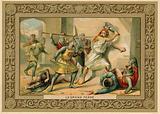 Trade card depicting Le Grand Ferre