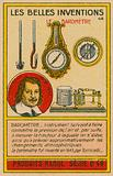 Beautiful inventions card, barometers