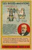 Beautiful inventions card, combustion engine