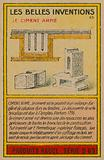 Beautiful inventions card, reinforced concrete
