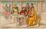 Chocolat Guerin Boutron trade card