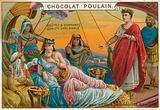 Chocolat Poulain trade card