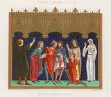 French figures of the 12th and 13th century