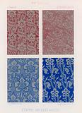 Embroidered fabrics of 15th-century France