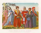 Bourgeoise, merchants and bourgeois