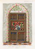 Door in the town hall of the Luneburg