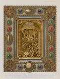 Bookbinding depicting the martyrdom of St Kilian