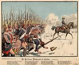 Prussian infantry at the Battle of Leuthen