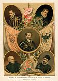 Famous Spanish historical figures of the 16th Century