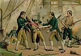 Death of Admiral Gravina, 1805