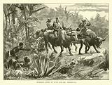 Bushmen lying in wait for Mr Threlfall