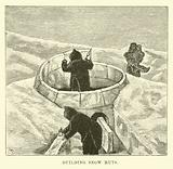 Building snow huts