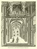 Proscenium of the Dorset Gardens Theatre