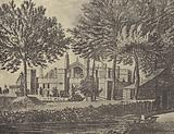 East View of the College, 1746
