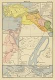 1250 BC; The Hittite ascendency in Western Asia; Ruins of Thebes; The Seven Mouths of the Nile
