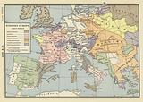 1400 AD; Western Europe about 1400 AD