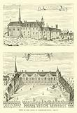 Views of the Castle of Plessis-les-Tours