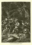 Death of Chevalier d'Assas