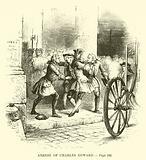 Arrest of Charles Edward