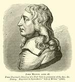 John Milton, aged 43
