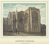 Winchester Cathedral, south east view