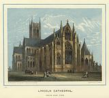 Lincoln Cathedral, south east view