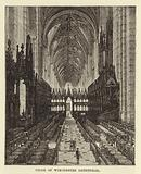 Choir of Winchester Cathedral