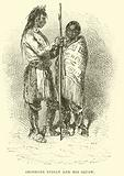 Shoshone Indian and his Squaw