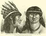 Indians of the Rio Oermejo (Brazil), showing ear and lip ornaments in wood, like those …