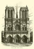 Notre Dame, west front