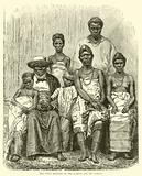 The Chief Kringer of the Gaboon and his family