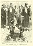 M'tesa, Emperor of Uganda, and his leading dignitaries
