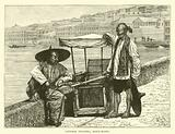 Chinese porters, Hong-Kong