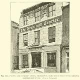 """""""News and Courier"""" Office, Charleston, damaged in the South Carolina Earthquake of 1886"""