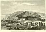 Performance of mass before the departure of the Franco-Peruvian Expedition
