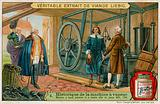 James Watt's low pressure double-acting steam engine, 1784