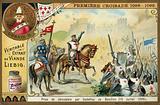 Capture of Jerusalem by Godfrey of Bouillon, First Crusade, 15 July 1099