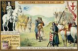 Meeting of Louis VII, King of France, and Conrad III, Emperor of Germany, Second Crusade, 1147-1149